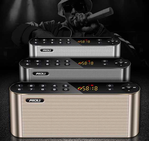 AIDU Q8 Bluetooth speaker universal radio mini speaker home overweight subwoofer 4