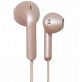 Heavy bass in-ear headphones with wheat iphone6S 8 7P headset
