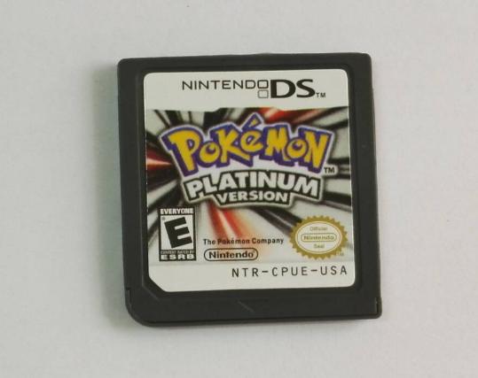 POKEMON PLATINUM 鑽石任天堂3DS NDSi NDS Lite遊戲卡祼卡 6