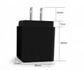 3USB LCD Intelligent Digital Display Universal Wall Charger Travel Phone