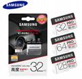 SAMSUNG memory card 64GB 128GB PROSDXC