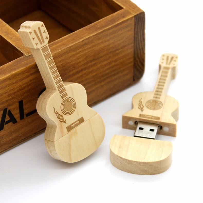 木质U盘2.0竹木U盘雕刻logo竹木 Wooden USB Flash Drive Memory卡片U盘 陶瓷U盘金属 4