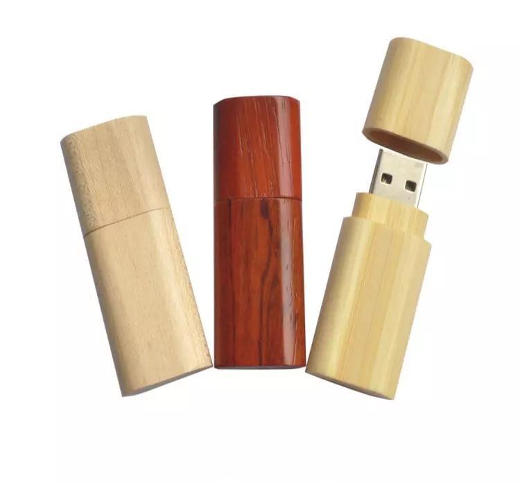 2.0USB disk Engraving logo Bamboo Wooden USB Flash Drive Memory card USB DISK 3