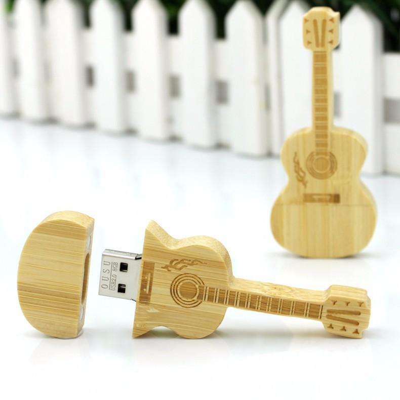 2.0USB disk Engraving logo Bamboo Wooden USB Flash Drive Memory card USB DISK 1