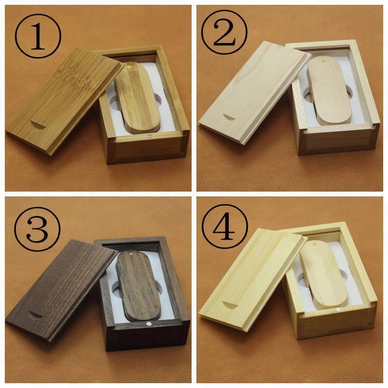 2.0USB disk Engraving logo Bamboo Wooden USB Flash Drive Memory card USB DISK 11