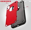 Aluminum Metal Waterproof Shockproof Doom Rugged Armor Cover CasesIPHONE X8Plus