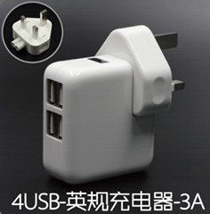 Universal USUK AC todc Power Socket Plug Travel Charger Adapter Converter