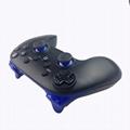 跨境  經典WIIU手柄 加強版遊戲手柄wiiU牛角遊戲手柄無線藍牙 4
