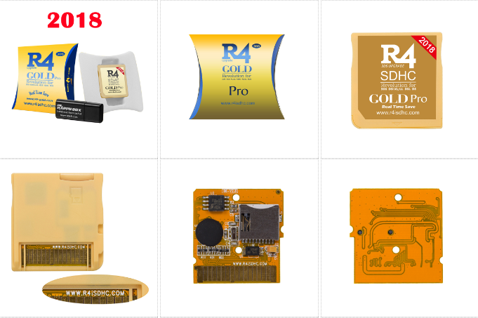 2018 R4ISDHC RTS Lite The silver R4i dual-core R4i gold pro 1