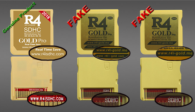 2018 R4ISDHC RTS Lite The silver R4i dual-core R4i gold pro 5