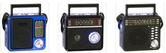 廠家直銷地攤導遊叫賣音響收音機擴音器插卡藍牙音箱可外接嘜克風 2