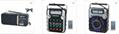 廠家直銷地攤導遊叫賣音響收音機擴音器插卡藍牙音箱可外接嘜克風 5