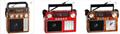 廠家直銷地攤導遊叫賣音響收音機擴音器插卡藍牙音箱可外接嘜克風 1