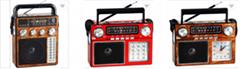 厂家直销地摊导游叫卖音响收音机扩音器插卡蓝牙音箱可外接唛克风