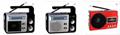 廠家直銷地攤導遊叫賣音響收音機擴音器插卡藍牙音箱可外接嘜克風 6