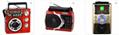 廠家直銷地攤導遊叫賣音響收音機擴音器插卡藍牙音箱可外接嘜克風 11
