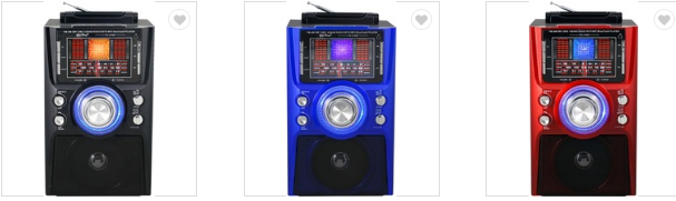 廠家直銷地攤導遊叫賣音響收音機擴音器插卡藍牙音箱可外接嘜克風 12