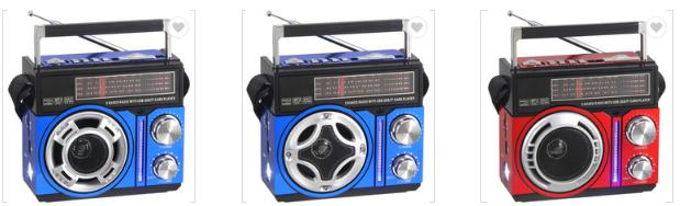 廠家直銷地攤導遊叫賣音響收音機擴音器插卡藍牙音箱可外接嘜克風 13