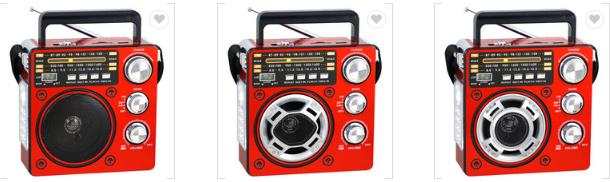 廠家直銷地攤導遊叫賣音響收音機擴音器插卡藍牙音箱可外接嘜克風 16