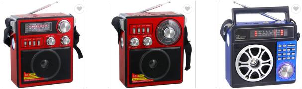 廠家直銷地攤導遊叫賣音響收音機擴音器插卡藍牙音箱可外接嘜克風 19