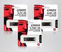 Kingston USB 64gb Pen Drive DTEG2 Cle Usb Flash Drive Metal Car usb-key USB 3.1 3