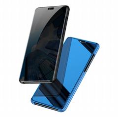 三星s9+手機殼支架galaxyA8 2018手機套翻蓋 s