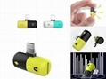 iphone8耳机双lighting药丸转接头四合一 胶囊手机转接头