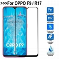 9HTempered Glass For OPPOR17 F9 Full Coverage Screen Protector Protective Film
