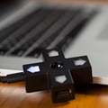 八位堂8Bitdo創意十字小白燈Dpad USB HUB多功能分線器擴展集線器 2