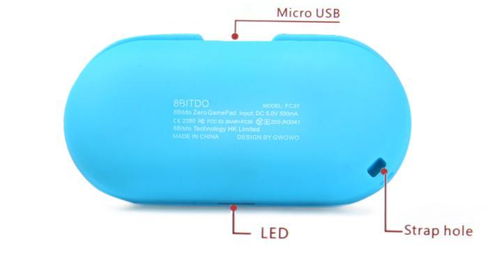 八位堂8Bitdo FC ZERO無線藍牙迷你小手柄 手機電腦安卓遊戲手柄 4