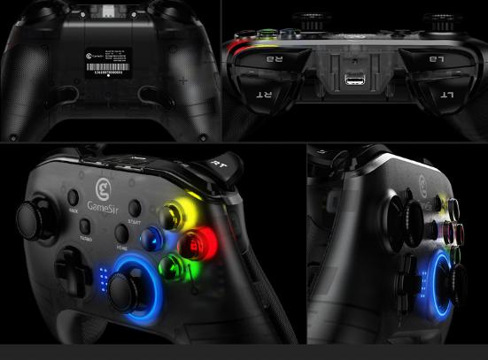 GameSir T4遊戲手柄藍牙無線吃雞手柄 T4刺激戰場藍牙手柄 7