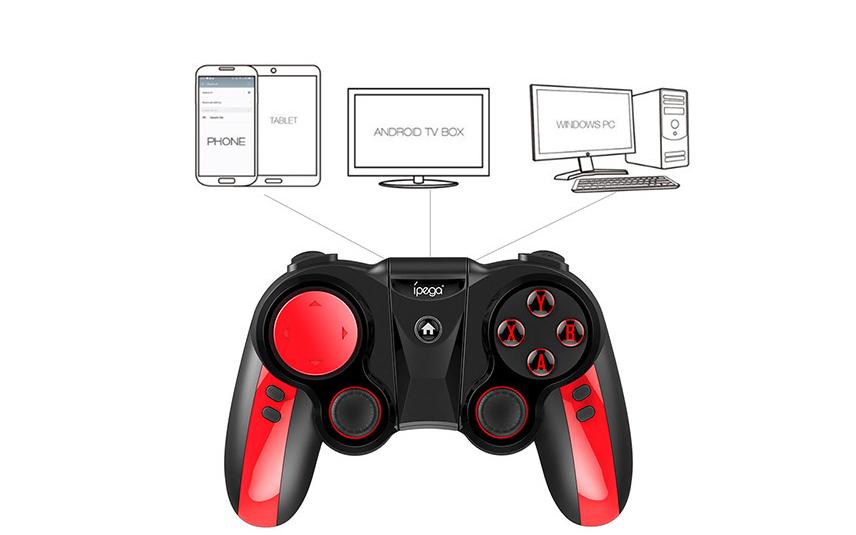 IPEGA PG-9089 Bluetooth Wireless Game Controller Gamepad Joystick 4