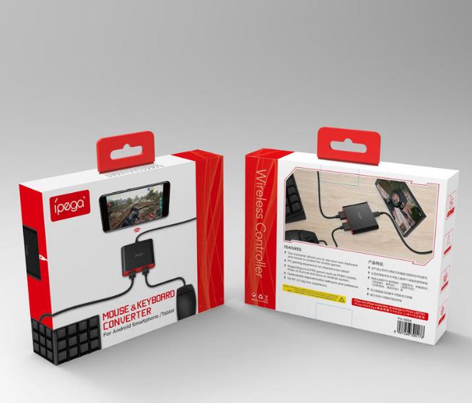 PG-9096游戏手柄利器绝地求生刺激战场键鼠转换器手游变端游 3