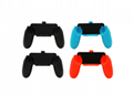 Steering Wheel Charging Dock Handle Grips for Nintend Switch Joy-Con NS
