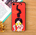 Creative iphone xs Max XR iphone9 Mobile Shell Millet 8 Huawei Glass Phone Case