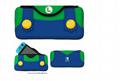HORI任天堂Switch主機收納包 軟質保護包 馬里奧 路易基 主題款