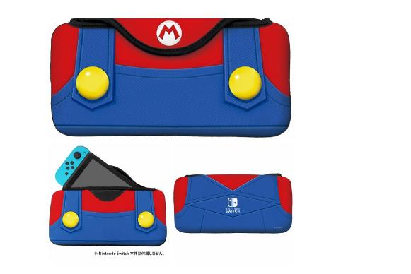 HORI任天堂Switch主机收纳包 软质保护包 马里奥 路易基 主题款 1