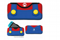 HORI任天堂Switch主機收納包 軟質保護包 馬里奧 路易基 主題款 1