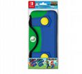 Portable Hard Shell Case for Nintend Switch Dual Zipper Magnetic Button
