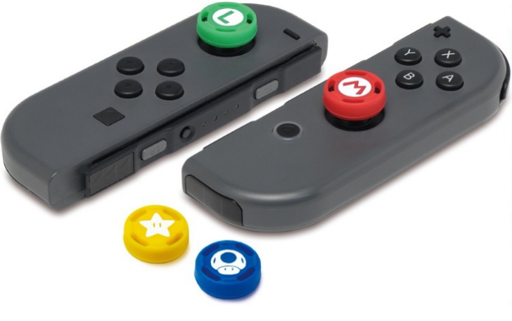 Joystick Caps Silicone Analog Grip Thumbstick button cover for Nintendo Switch 1