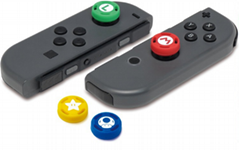 Joystick Caps Silicone Analog Grip Thumbstick button cover for Nintendo Switch