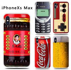 iPhoneXs max创意手机壳 苹果6s78防摔游戏机保护套工厂直销