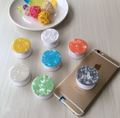 Mobile phone balloon bracket retractable cartoon cute  phone stand pop socket