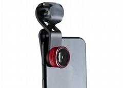全屏魚眼外置攝像頭 208度無暗角手機通用特效鏡頭 拍照配件新款