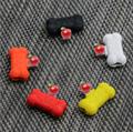 工厂直销新款卡通硅胶充电听歌二合一音频线苹果转接 3