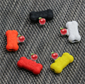 cartoon silicone charging listening song two in one audio cable iphone transfer