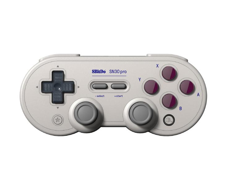 8bitdo八位堂SN30ProG經典版無線藍牙遊戲手柄Switch震動連發體感 4