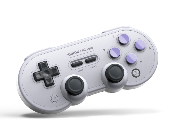 8bitdo八位堂SN30ProG經典版無線藍牙遊戲手柄Switch震動連發體感 3