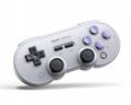 8bitdo八位堂SN30ProG经典版无线蓝牙游戏手柄Switch震动连发体感 3