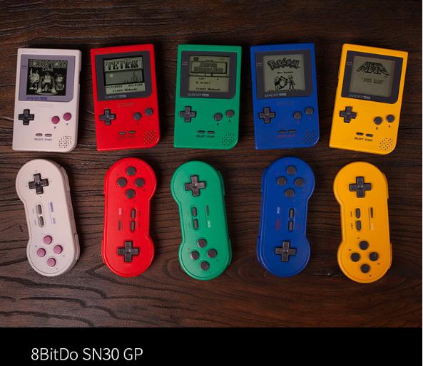8bitdo八位堂SN30ProG經典版無線藍牙遊戲手柄Switch震動連發體感 9